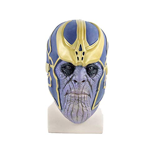 Thanos Pretend Cosplay 3D Deluxe Head Mask -