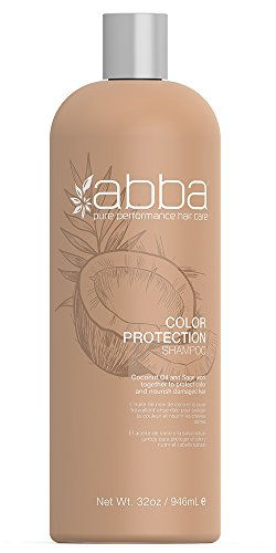 ABBA Color Protection Shampoo, Coconut & Sage, 32 Fl. (Abba Products Hair Shampoo)