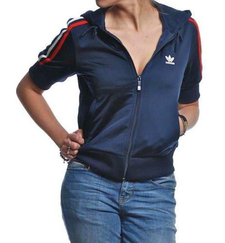 adidas Olympic Veste x32398 [gr. 32] Azul Retro con Capucha ...