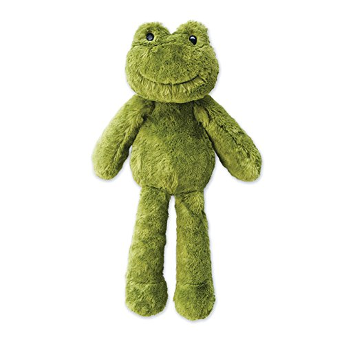 Fredo Loungerz Frog Friend Fuzzy Kelly Green Children's Plush Stuffed Animal Toy -
