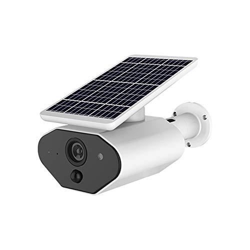 Ancoree Cámara de Batería Solar, Solar Carga con Baterías de 2pcs Inalámbrico Energía Solar Exterior IP66 Seguridad...