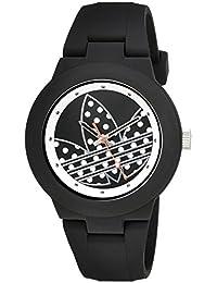 Adidas Women's ADH3050 Aberdeen Analog Display Quartz Black Watch
