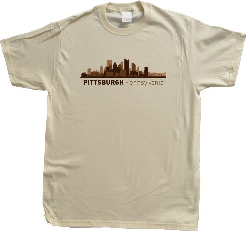 Pittsburgh, PA City Skyline Unisex T-shirt Pennsylvania Hometown Pride Tee