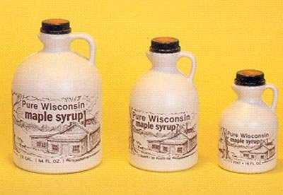 Pint Maple Syrup Jug - Roth Maple Syrup in a Scenic Jug, Pint - 16 oz.