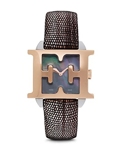 Escada Women's Rose Gold Case Leather Band Watch E2060045
