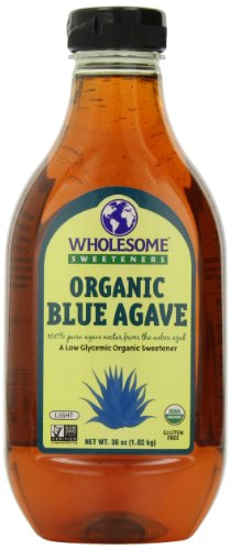 Wholesome Sweeteners Organic Blue Agave-36 oz, 2 ct