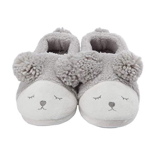 Peluche Pantoufle Et Lanfire Grey Hommes Chaussures Dessin D'hiver Chaussons Mignon shoes Femmes Animé Y5HxHwF
