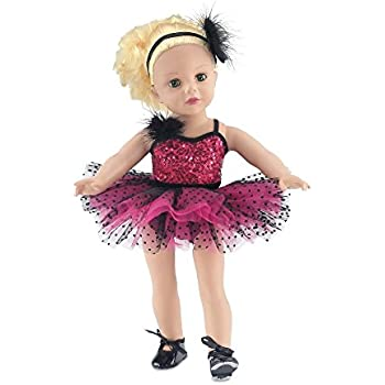 24f58eaa5 Amazon.com  DreamWorld Collections - Black Swan - 3 Piece Ballerina ...