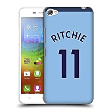 Official Newcastle United FC NUFC Matt Ritchie 2017/18 Players Away Kit Group 2 Hard Back Case for Lenovo S90 Sisley