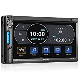 Double Din Digital Multimedia Touch Screen Car Stereo Receiver MP5 Player,aboutBit HD 7 inch LCD|Phone Link|Bluetooth…