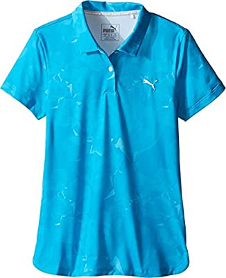PUMA Golf Kids Girl's Bloom Polo (Little Kids/Big Kids)