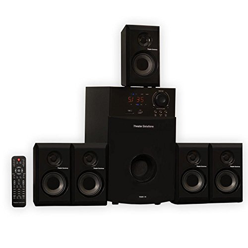 Theater Solutions TS514 5.1 Surround Sound Home Entertainment System