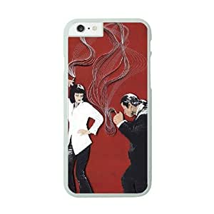 iPhone 6 Plus White Cell Phone Case Pulp Fiction STY790792 Hard Phone Case