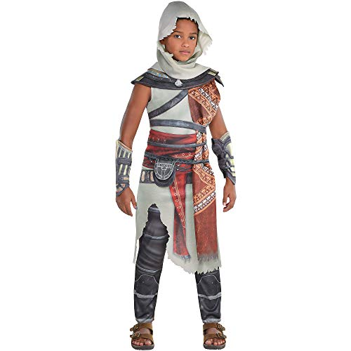 Assassin's Creed Halloween Costume For Kids (Party City Bayek Halloween Costume for Boys, Assassin's Creed, Medium, Includes)