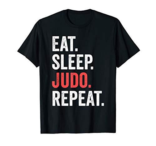 - Eat Sleep Judo Repeat T-Shirt