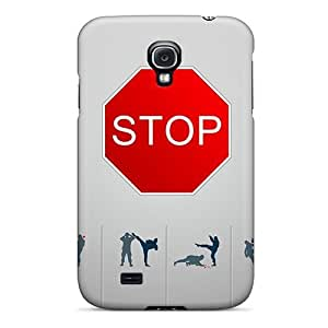 Galaxy S4 Case Cover Stop H8 Case - Eco-friendly Packaging