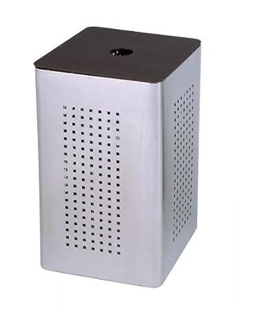 Bad accessoires edelstahl  Exclusive Designer Wäschebox-/Wäschebehälter/Wäschekorb für Ihr ...