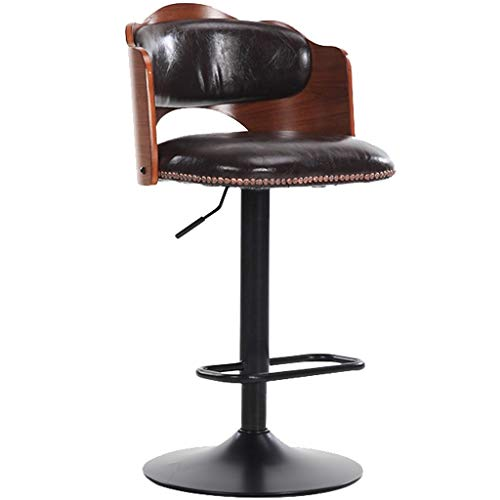 Hzpxsb Creative Bar Stool Cafe Fashion Restaurant Stool Beauty Massage Manicure Tattoo Chair (Color : Black)