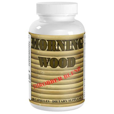 Morning Wood Male Enhancement Pills with Maca and Tribulus T...