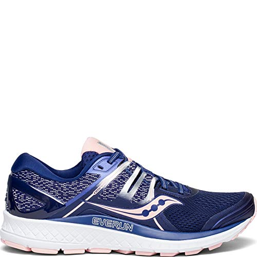 (Saucony Women's S10442-2 Omni ISO Road Running Shoe, Navy | Blush - 11.5 )