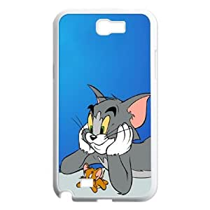 Tom and Jerry Samsung Galaxy N2 7100 Cell Phone Case White K2769930