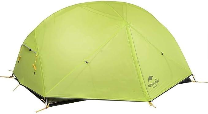 Naturehike Mongar Tienda de campaña de mochilero Ligero 2 Personas para el Excursionismo, el Senderismo y el Camping