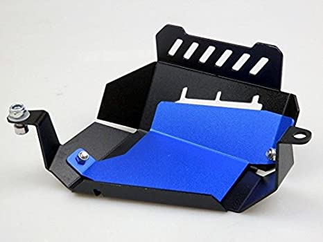 Motorcycle Radiator Water Coolant Reservoir Tank Guard Cover for 2013-2016 Yamaha FZ-07 MT-07 FZ07 MT07 FZ MT 07 2014 2015 13-16 Blue
