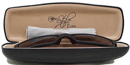 In Style Eyes® Oceanside, Vibrant Bifocal Sunglasses Plus Protective Hard Case and Cleaning Cloth/Tortoise/1.25