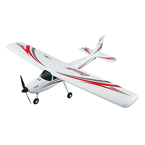 Airplane Receiver Ready - Flyzone Sensei Receiver-Ready Electric Trainer RC Airplane with Self-Correcting WISE Gyro Flight Stabilization