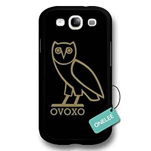 Ovoxo Owl Hard Plastic For Case Samsung Galaxy S5 Cover & Cover - Ovoxo Owl For Case Samsung Galaxy S5 Cover - Black 1