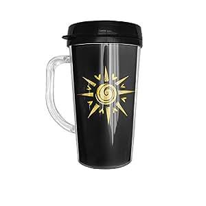 Stainless Steel Sunshine Colored Handle Starbucks Mug
