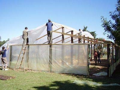 SUNSCOVER Greenhouse Plastic Film Clear Polyethylene Cover UV Resistant, 10 ft Wide x 25 ft Long by SUNSCOVER (Image #5)