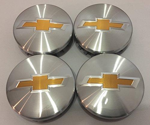 Brushed Aluminum Chevy Suburban Tahoe Center Caps 9596403 3.25 18 20 22 inch Wheels