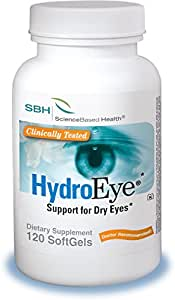 HydroEye Softgels - Dry Eye Relief - 120 Count
