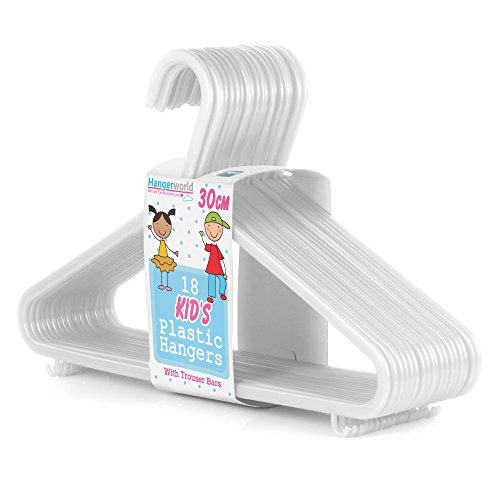 Hangerworld Plastic Hangers Toddler Clothes