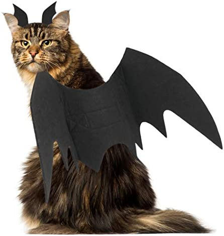 Legendog Cat Costume Halloween Bat Wings Pet Costumes Pet Apparel for Small Dogs and Cats (Bat Wings) 27