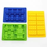 Youdepot Yellow Building Brick Blue Green