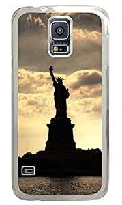 Statue Of Liberty Clear Hard Case Cover Skin For Samsung Galaxy S5 I9600