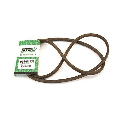 Mtd 954-04139 Lawn & Garden Equipment Belt Genuine Original Equipment Manufacturer (OEM) ()