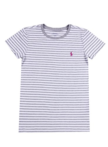 Ralph Lauren Sport Women's Lightweight Crew-Neck T-Shirt 2016 Model (X-Large, Andover Grey Heather/ - Ralph Women Sport Lauren For