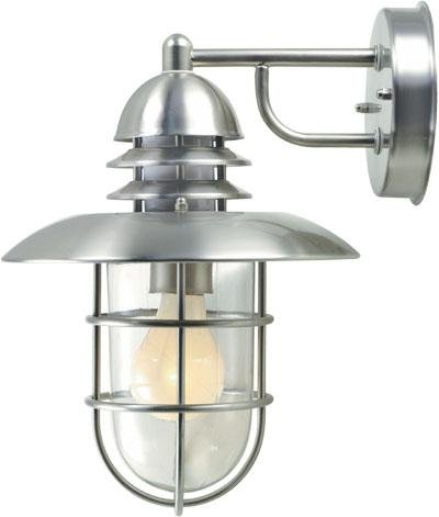 Steel Outdoor Wall Sconce From The Lamppost Collection