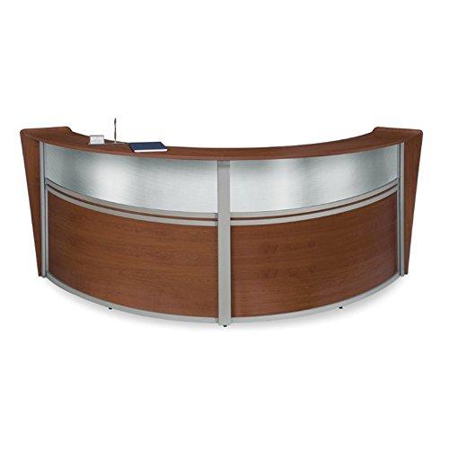 ofm-marque-series-plexi-double-unit-curved-reception-station-cherry