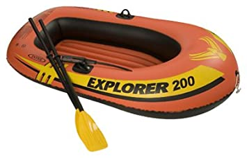 Generic Intex Recreation 58331EP Explorer 200 2 Person Boat Set, 73x73Inches Toy Vehicle Playsets at amazon