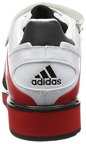 adidas Indoor Power II Unisex Bianco Sportive Scarpe Perfect Adulti HWZHr4U