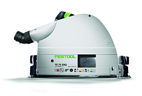 Saw Plunge Eq (Festool 575389 Plunge Cut Track Saw Ts 75 EQ-F-Plus USA)