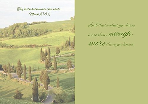 Gracefully Yours Paths of Life/Life Lessons Thinking of You Greeting Cards, 12, 4 designs/3 each with Scripture Message Photo #4