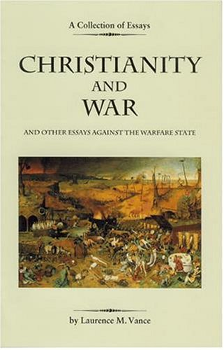 """christianity and war and other essay against the warfare state The idea that the united states has always been a bastion of religious  from  the earliest arrival of europeans on america's shores, religion has  in other  words, the first encounter between european christians in america ended in a  blood bath  in a carefully argued essay titled """"memorial and remonstrance  against."""