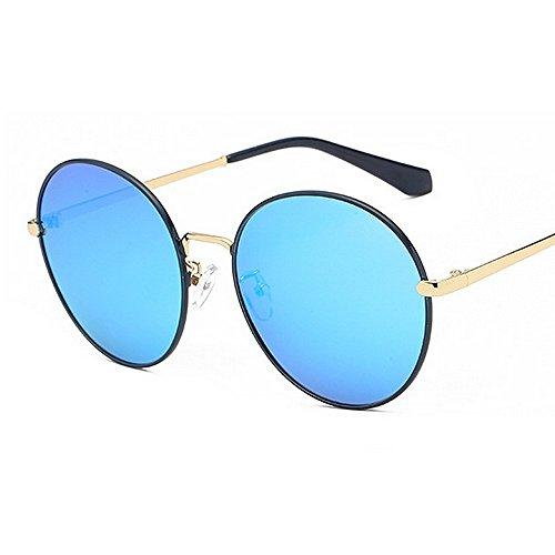 de designer de des voyageant polarisées protègent ronde Les lunettes cadre Bleu soleil forme plein le la brillants nuances les pour nouveauté de rondes soleil visage tout femmes de gracieuse lunettes 8A7yx5q