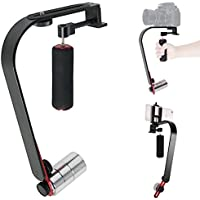 ASHANKS Video Steadycam Stabilizer for Digital Compact Camera iPhone dslr for Canon Nikon Sony Gopro hero Pentax Camcorder DV