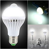 GHC LED Gloeilampen LED-lamplampjes PIR MOTION SENSOR LAMP E27 LAMP Geluid en lichtregeling E27 Infrarood…
